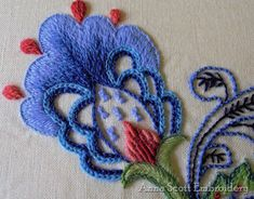 Classic Crewel: An Education in Historical Embroidery