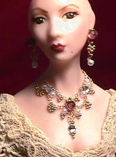 how to: necklace and earrings