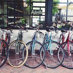 A Linus fleet at Loyal Cycle Co in Tucson, AZ