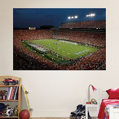Auburn kid 39 s bedroom on pinterest 21 pins for Crowd wall mural