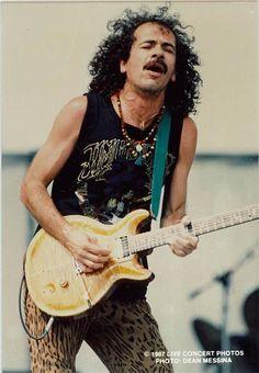 Carlos Santana..back in the day