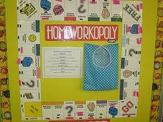Homeworkopoly!