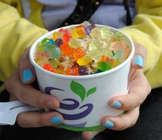 It's okay to want to feel young again... Just add some gummy bears! (photo by Cole Pickup)