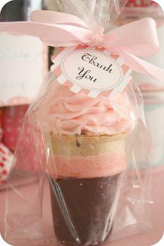 Ice Cream Cone Cupcake Favor