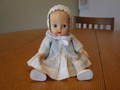 Vintage Vogue Ginnette Doll Ginny Sister Ginette GC
