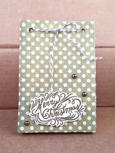 Christmas Gift Bag using We R Memory Keepers Punch Board | www.laurentaylormade.com