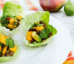 Less Meat more Veggies? Fuel up on Tempeh Tacos with Mango-Avocado Salsa!