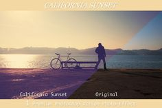 California Sunset - 1 PS Action by VanillaSpring on Creative Market
