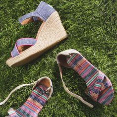 Chambray and stripes #TOMS