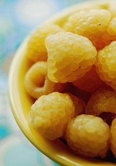 Sun-Kissed Golden Raspberries