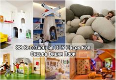 32 Super DIY Ideas For Childs Dream Room 32 super, diy ideas, child dream, dreams, diy gadgetri, children, super diy, diy projects, dream rooms