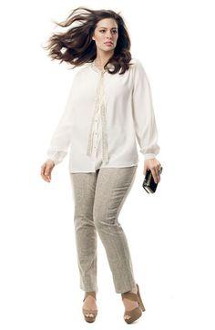 Bellatrix Blouse & NYDJ Python Print Jeans | Nordstrom