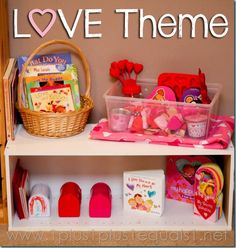 Love Theme Preschool Fun from @{1plus1plus1} Carisa