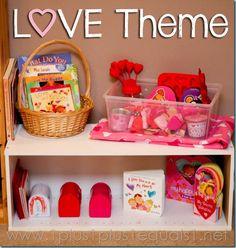 Love Theme Preschool Fun from @{1plus1plus1} Carisa