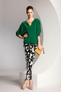 Escada. Spring 2013 Ready-to-Wear  #JustFab & #FashionWeek