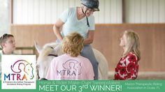 Our third and final sweepstakes winner has been announced! | Marion Therapeutic Riding Association, in Ocala, FL