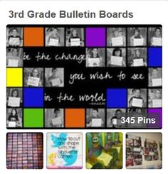 Lots of creative and inspiring ideas for bulletin boards. Check it out! #BulletinBoards