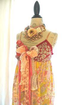 Gypsy cowgirl dress