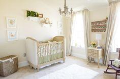 Elegant Beatrix Potter-themed nursery - #babygirl #elegant #nurserydesign