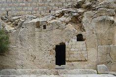 The empty tomb in Jerusalem