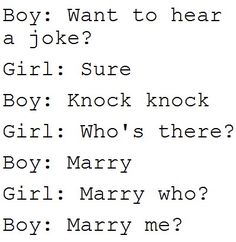 if someone proposed like this, I would laugh. and then cry. :')