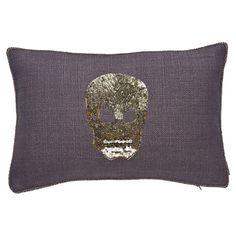 Ankasa Skull Pillow II in Smoke
