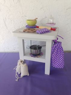 Bakery Island for Kitchen includes accessories by QueenEmmaDesigns, $50.00