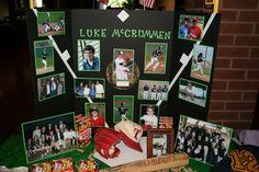 softbal diamond, banquet idea, sport banquet, basebal banquet, senior baseball