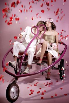 Perfect bike (actually trike) for Valentine's Day