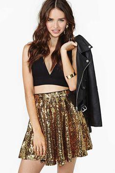 danc sequin, fashion, sequin skirt, skirts, sequins, rare london, london watch, dance, closet stapl