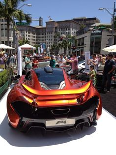 The 2013 Rodeo Drive Concours d'Elegance.