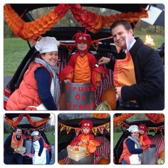 Trunk or treat~ lobster, cook + hungry Tim