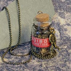 Zombie Poison Jar Necklace Tutorial