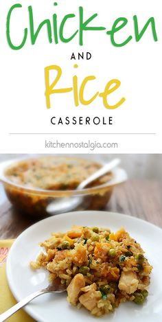 Chicken and Rice Cas