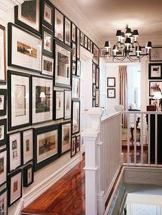 hallway gallery wall 2