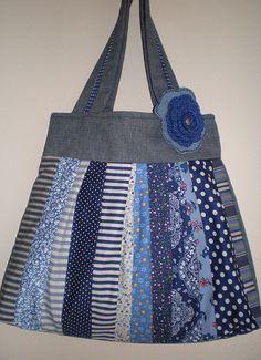 Bolsa Mix: Azul