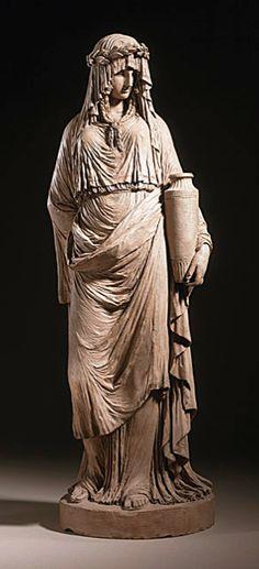 joseph Charles Marin | Vestal Virgin, c. 1791/ 1795 -  Los Angeles County Museum of Art