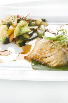 Thai-Style Halibut with Coconut-Curry Broth Recipe