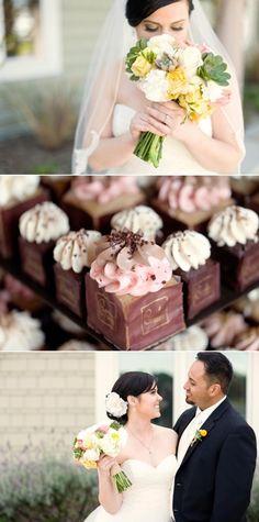 square cupcakes