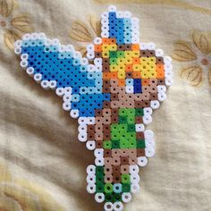 Tinker Bell perler beads by tracyly168