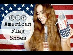 diy american flag shoes, american flag shoes diy
