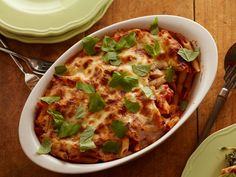 Cheesy Spinach Baked Penne Recipe : Food Network Kitchen : Food Network - FoodNetwork.com