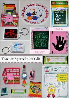 Teacher Appreciation or End of School Year Gift