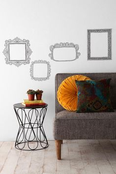 Whimsical wall decals. #urbanoutfitters