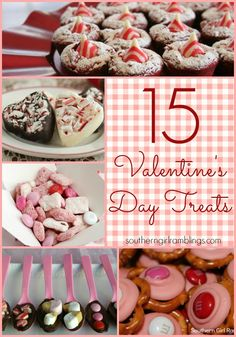 15 Valentine's Day Treats