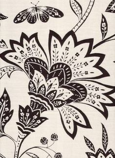 duralee jacobean floral