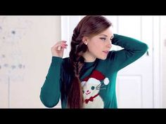 Loop Side Ponytail hair tutorial...check out my channel for more hairstyle ideas ♥