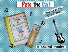 cats, cat activ, reader book, pete, literaci teacher, teachingclassroom idea, boy pet, school idea, teach idea