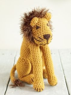 "Leo The Lion- Free Pattern - Click ""Instructions"""