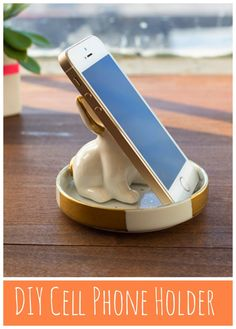 Make your own Cell Phone Holder! Perfect For Christmas